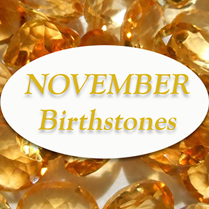 november birthstones citrine topaz