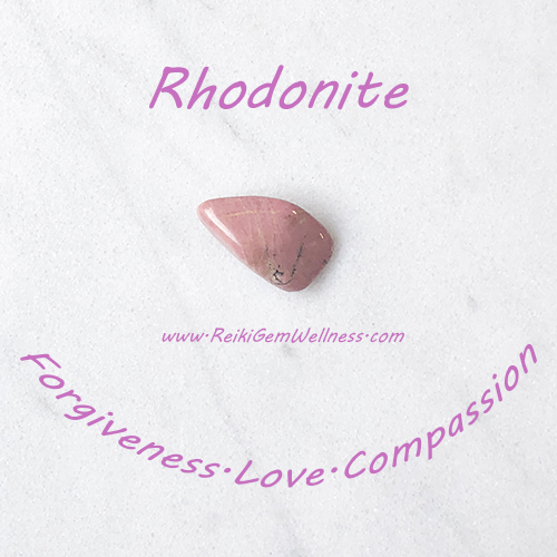 rhodonite spiritual properties