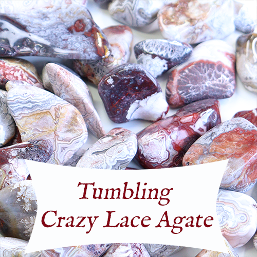 tumbling crazy lace agate