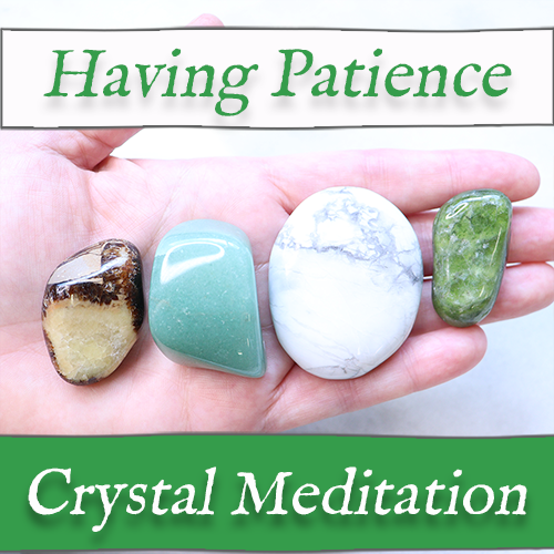 having patience meditation